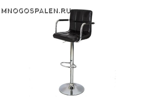 Стул барный JY-1006 Shiny black купить в салоне-студии мебели Барселона mnogospalen.ru много спален мебель Италии классические современные
