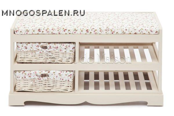 Обувница Secret De Maison ECHOPPE купить в салоне-студии мебели Барселона mnogospalen.ru много спален мебель Италии классические современные
