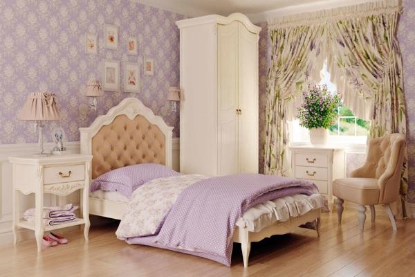 Спальня детская Romantic купить в салоне-студии мебели Барселона mnogospalen.ru много спален мебель Италии классические современные