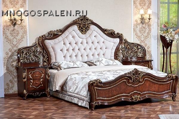 Спальня Джоконда радика купить в салоне-студии мебели Барселона mnogospalen.ru много спален мебель Италии классические современные
