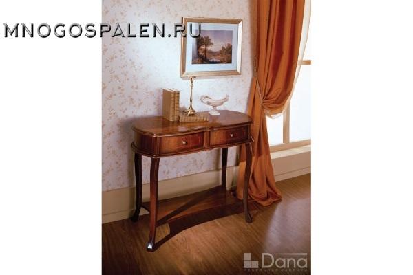 Консоль №564 Пекан купить в салоне-студии мебели Барселона mnogospalen.ru много спален мебель Италии классические современные