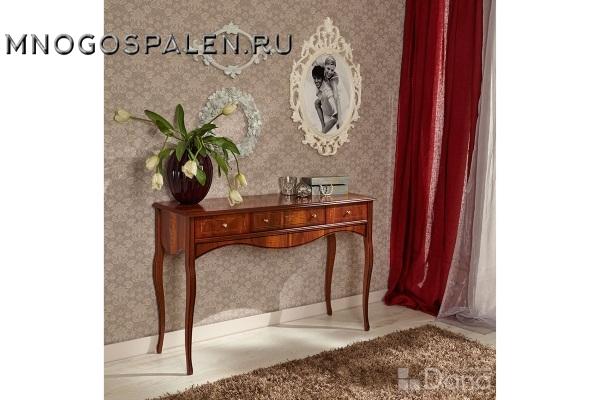 Консоль №753 Пекан купить в салоне-студии мебели Барселона mnogospalen.ru много спален мебель Италии классические современные