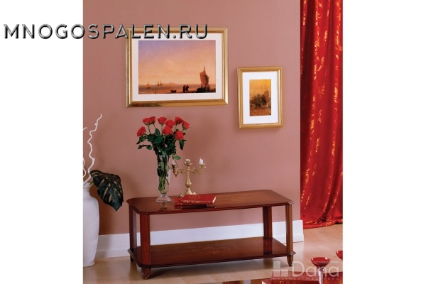 Стол журнальный №511 Пекан купить в салоне-студии мебели Барселона mnogospalen.ru много спален мебель Италии классические современные