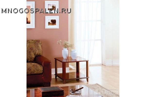 Стол журнальный №512 Пекан купить в салоне-студии мебели Барселона mnogospalen.ru много спален мебель Италии классические современные