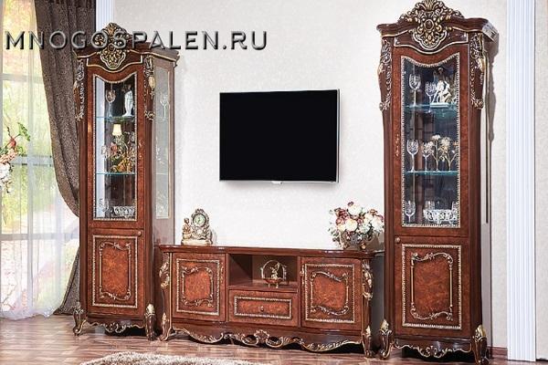 Гостиная Джоконда купить в салоне-студии мебели Барселона mnogospalen.ru много спален мебель Италии классические современные