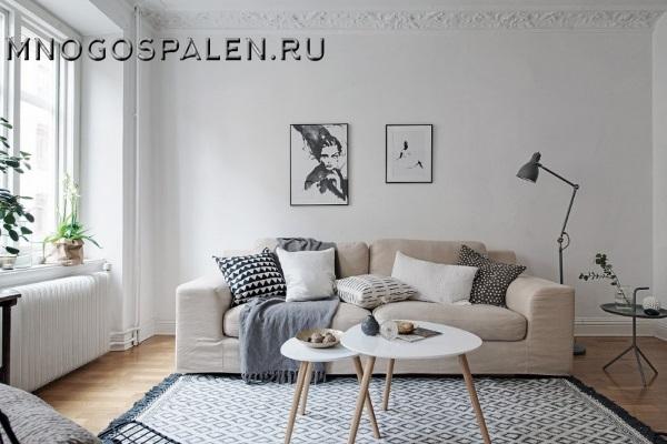 ДИВАН ANDREW SOFA БОЛЬШОЙ БЕЖЕВЫЙ купить в салоне-студии мебели Барселона mnogospalen.ru много спален мебель Италии классические современные