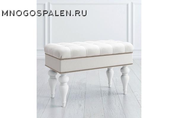 БАНКЕТКА ОТКРЫВАЮЩАЯСЯ купить в салоне-студии мебели Барселона mnogospalen.ru много спален мебель Италии классические современные