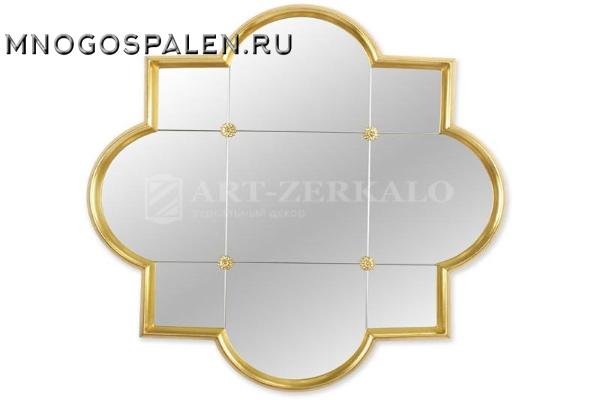 Зеркало в раме Era Gold (Эра) купить в салоне-студии мебели Барселона mnogospalen.ru много спален мебель Италии классические современные