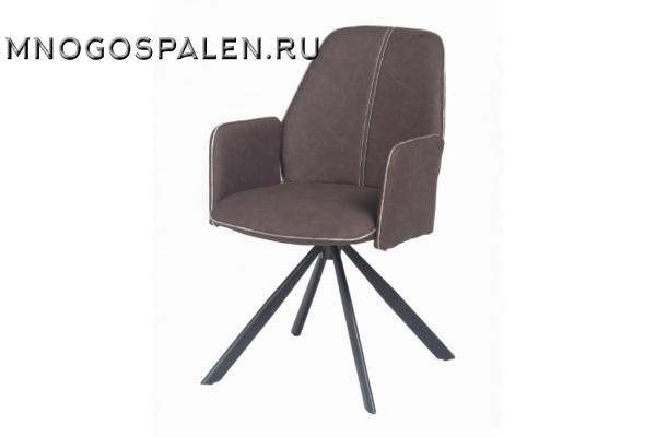 Кресло металлическое NORD (коричневое/сонома) купить в салоне-студии мебели Барселона mnogospalen.ru много спален мебель Италии классические современные