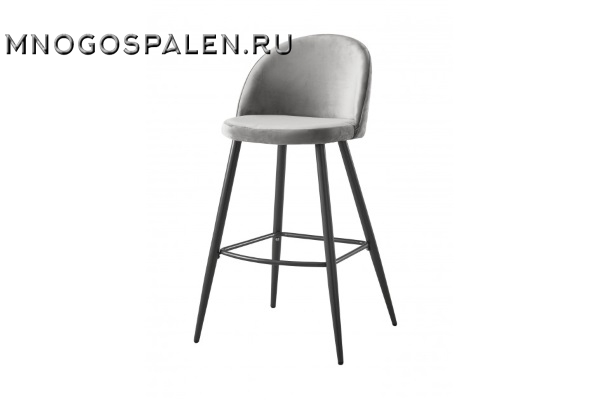Стул барный BCR-502 (серый) купить в салоне-студии мебели Барселона mnogospalen.ru много спален мебель Италии классические современные