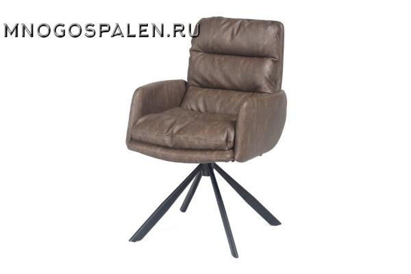 Кресло металлическое VILMAR (коричневое) купить в салоне-студии мебели Барселона mnogospalen.ru много спален мебель Италии классические современные