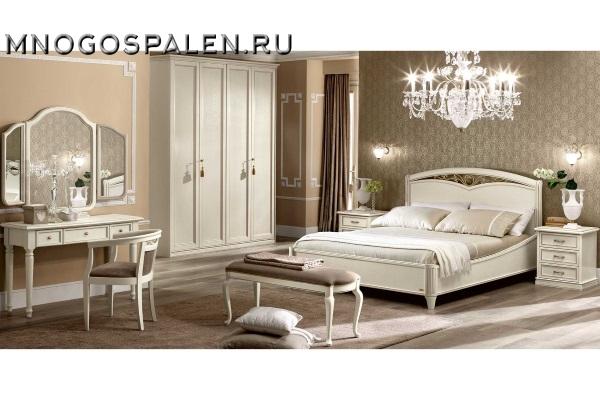 СПАЛЬНЯ NOSTALGIA BIANCO Camelgroup купить в салоне-студии мебели Барселона mnogospalen.ru много спален мебель Италии классические современные