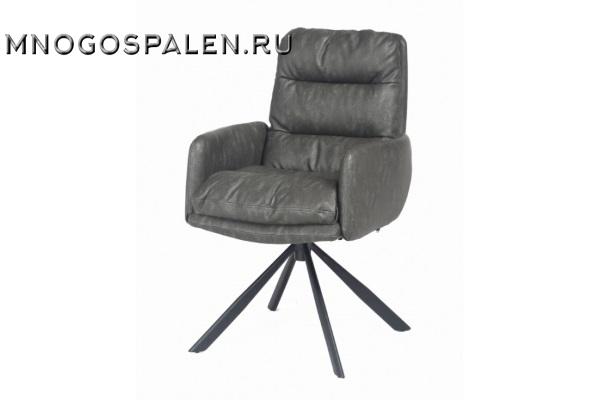 Кресло металлическое VILMAR (серое) купить в салоне-студии мебели Барселона mnogospalen.ru много спален мебель Италии классические современные