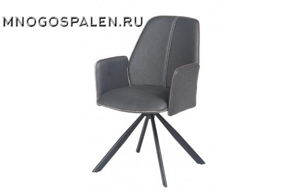 Кресло металлическое NORD (серое/коричневое) купить в салоне-студии мебели Барселона mnogospalen.ru много спален мебель Италии классические современные