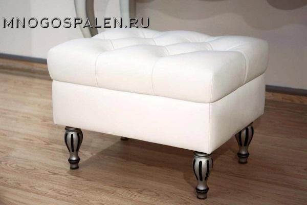 Банкетка Pouf GM 03 купить в салоне-студии мебели Барселона mnogospalen.ru много спален мебель Италии классические современные