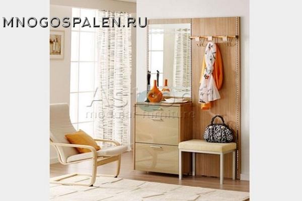 Прихожая с зеркалом Ka012 Астрон купить в салоне-студии мебели Барселона mnogospalen.ru много спален мебель Италии классические современные