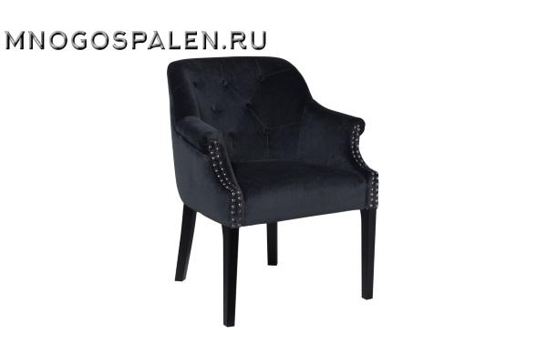 Кресло велюровое темно-серое 46AS-AR2357-DGREY купить в салоне-студии мебели Барселона mnogospalen.ru много спален мебель Италии классические современные