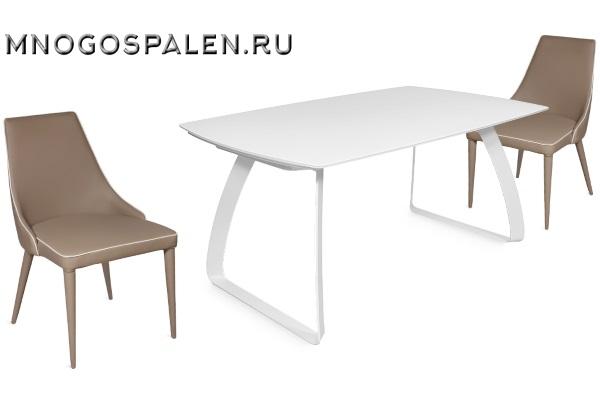 Стол MATTEO купить в салоне-студии мебели Барселона mnogospalen.ru много спален мебель Италии классические современные