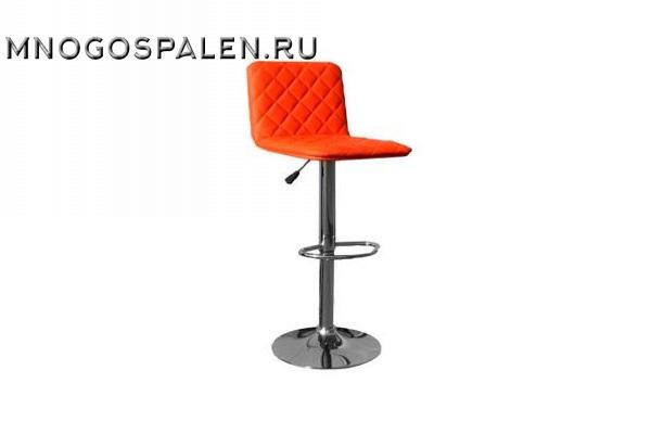 Барный стул 5003 оранжевый купить в салоне-студии мебели Барселона mnogospalen.ru много спален мебель Италии классические современные