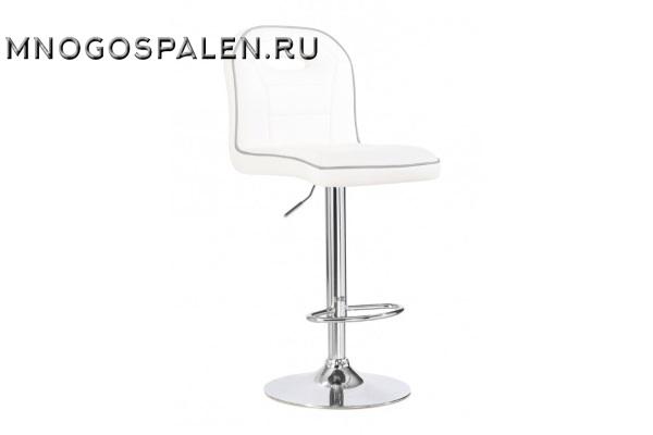 Стул барный BCR-708 (белый/серый кант) купить в салоне-студии мебели Барселона mnogospalen.ru много спален мебель Италии классические современные