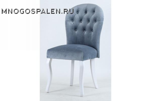 СТУЛ C-1056 VELVET BLUE купить в салоне-студии мебели Барселона mnogospalen.ru много спален мебель Италии классические современные