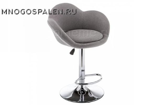 Барный стул Cotton серый купить в салоне-студии мебели Барселона mnogospalen.ru много спален мебель Италии классические современные