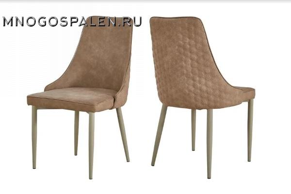 Стул DALY  taupe купить в салоне-студии мебели Барселона mnogospalen.ru много спален мебель Италии классические современные