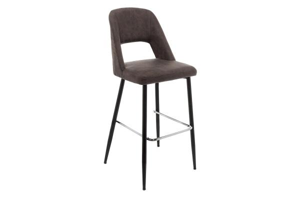 Барный стул Lido серый купить в салоне-студии мебели Барселона mnogospalen.ru много спален мебель Италии классические современные