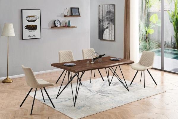 Стол T-1078 орех купить в салоне-студии мебели Барселона mnogospalen.ru много спален мебель Италии классические современные
