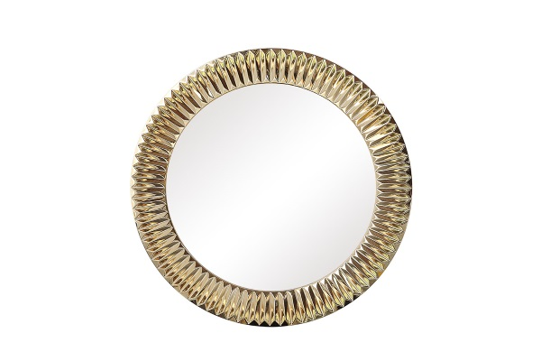 Зеркало Solomon A88054-1 золото купить в салоне-студии мебели Барселона mnogospalen.ru много спален мебель Италии классические современные