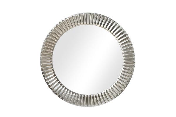 Зеркало Solomon A88054-2 серебро купить в салоне-студии мебели Барселона mnogospalen.ru много спален мебель Италии классические современные