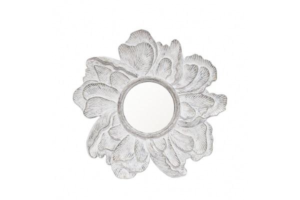 Зеркало Serenity A88061-1 белый потертый купить в салоне-студии мебели Барселона mnogospalen.ru много спален мебель Италии классические современные